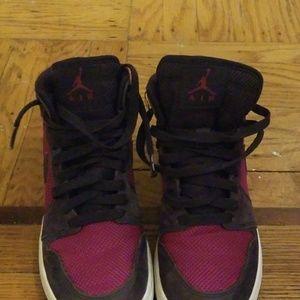 Girl's Jordan sneakers